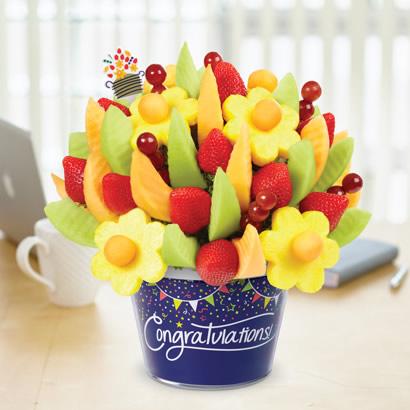Congratulations Delicious Fruit Design(R)