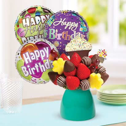 Delicious Birthday Wishes Edible Arrangements