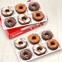 Edible Donuts Sports Mix