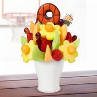 Game Day Delight - Basketball Edible® Donut