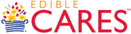 Edible Cares Logo – Charitable Donations