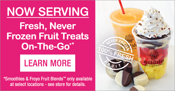 Did you Know? Our stores sell fresh fruit treats on-the-go