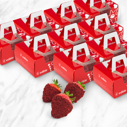 Red Velvet Berry Treat Box Bundle