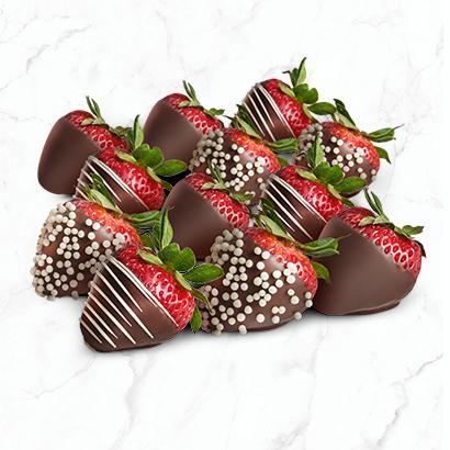 Fruit Stuffed Strawberries