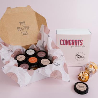 Congrats You Deserve This Bundt Cake Jars