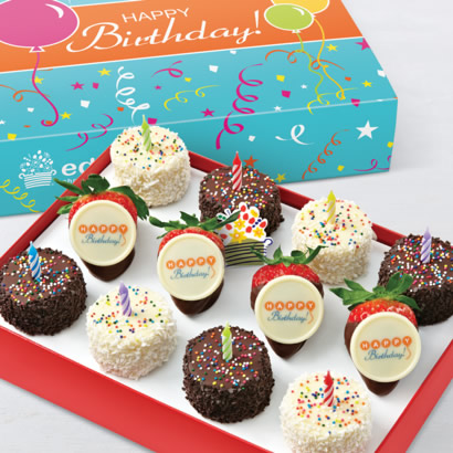 Birthday Wishes Dipped Fruit™ Box