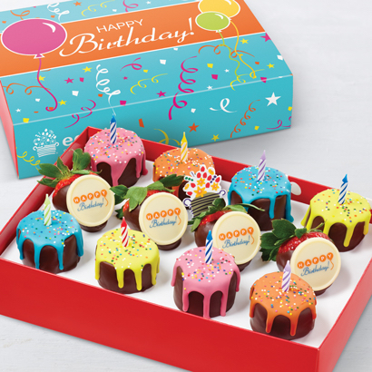 Pineapple Drip Cakes Box - Birthday