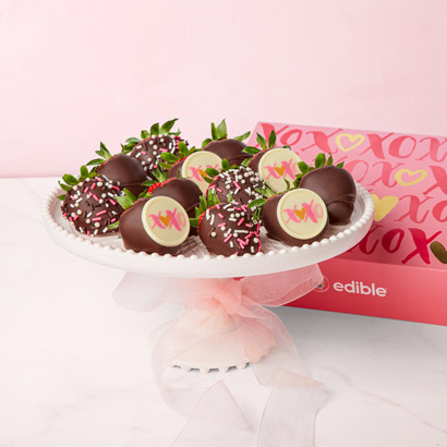 Chocolate Strawberry Sweetheart Box