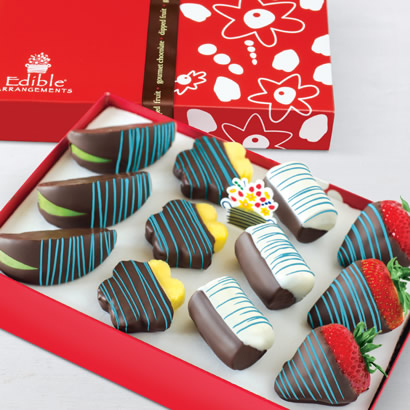 Swizzle® Celebration Mixed Dipped Fruit™ Box