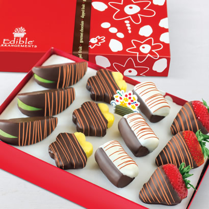 Autumn Swizzle® Mixed Dipped Fruit™ Box