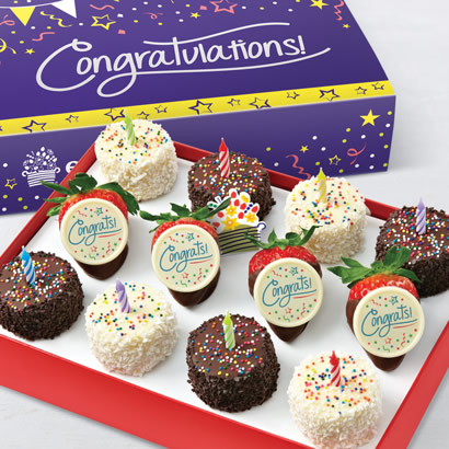 Congratulations Edible Cakes™ & Berries