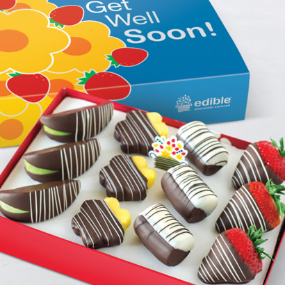 Get Well Swizzle® Mixed Dipped Fruit™ Box