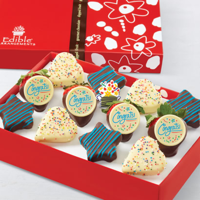 Sweet Delivery Blue Swizzle® Dipped Fruit™