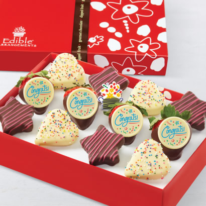 Sweet Delivery Pink Swizzle® Dipped Fruit™ Box