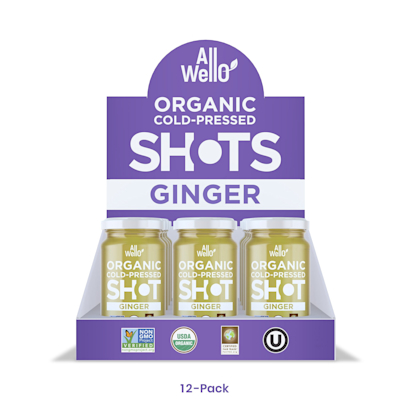 Organic Ginger ColdPressed Shot