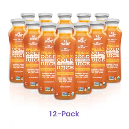 Organic Tropical Escape ColdPressed Juice