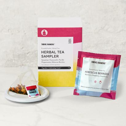 Thrive Farmers Herbal Tea Sampler