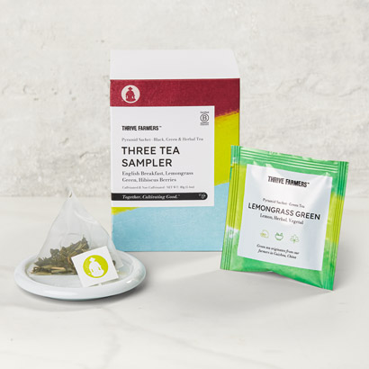 Thrive Farmers Three Tea Sampler