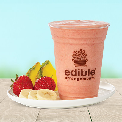 Strawberry, Pineapple, & Banana Smoothie