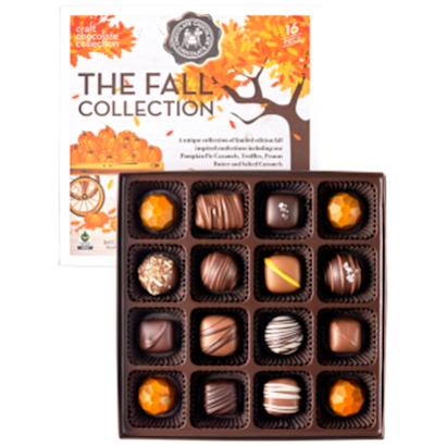 Fall Seasonal Chocolate Collection