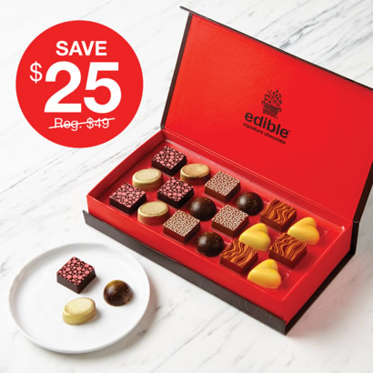 Limited Quantities Available Edible Signature Chocolate Box