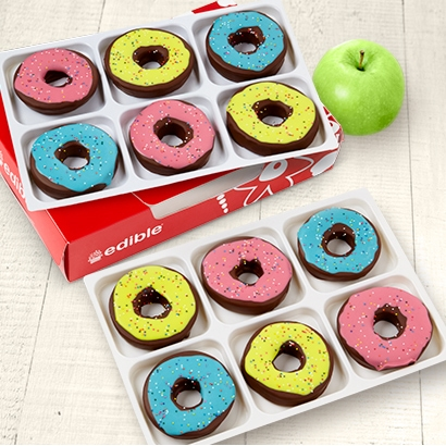Colorful Donut Box