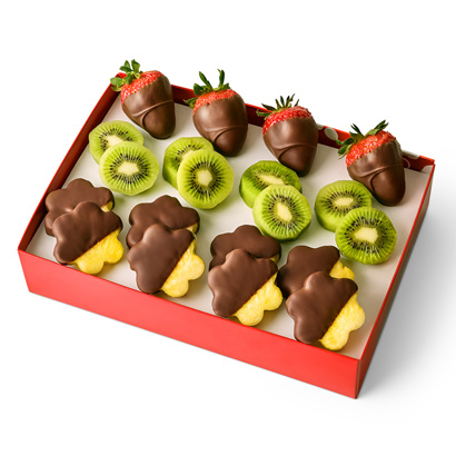 Summer Fruits Dipped Fruit Box