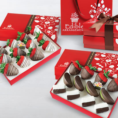 Swizzle Berries® & Chocolate Dipped Mixed Fruit Bundle