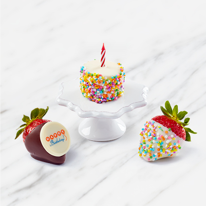 Funfetti Strawberry Treat Box