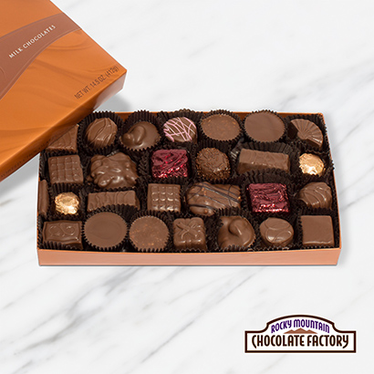 Milk Chocolate Assorted Gift Box 14.5 oz.