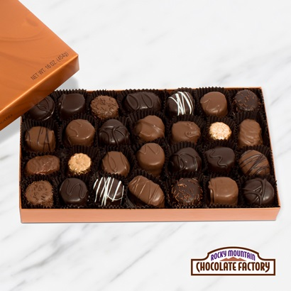 Soft Center Chocolates Gift Box, 16 oz.