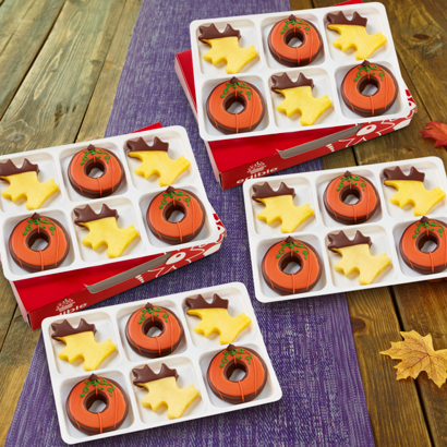 Deliciously Fall Dipped Fruit Box - One Dozen