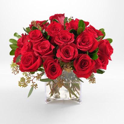 Short Stem Red Roses