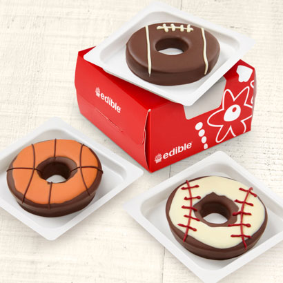 Edible® Donuts - Sports Mix