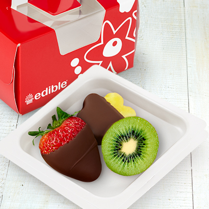 Strawberry, Pineapple, & Kiwi Treat Box