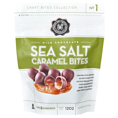 Milk Sea Salt Caramel Bites