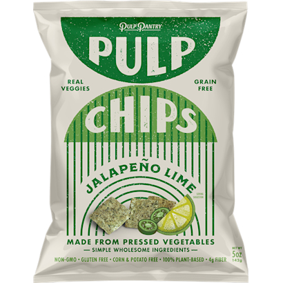 Jalapeo Lime Pulp Chips 4Pack