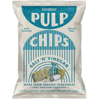 Salt N Vinegar Pulp Chips 4Pack