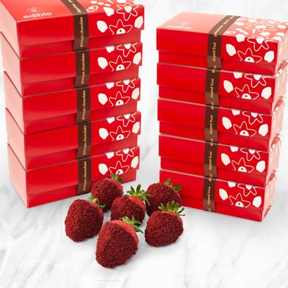 Red Velvet Berry Box Bundle