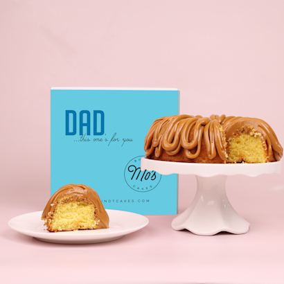 Fathers Day Dulce de Leche Bundt Cake