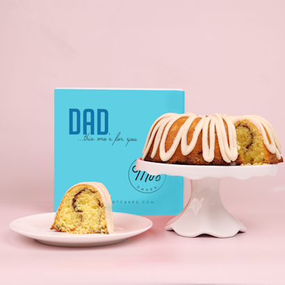 Fathers Day Guava Bundt Cake