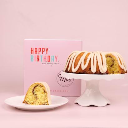 Happy Birthday Cinnamon Bundt Cake  Mos Bundt Cakes
