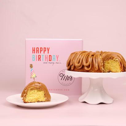 Happy Birthday Dulce de Leche Bundt Cake