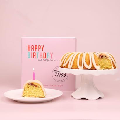 Happy Birthday Guava Bundt Cake Delivery  Mos Bundt Cakes