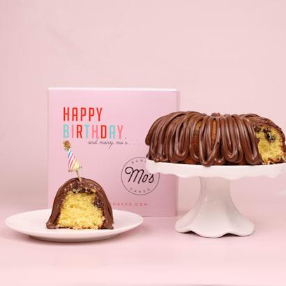 Happy Birthday Nutella Bundt Cake