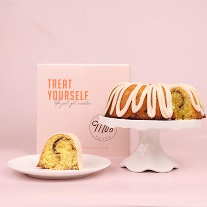 Treat Yourself Cinnamon Bundt Cake