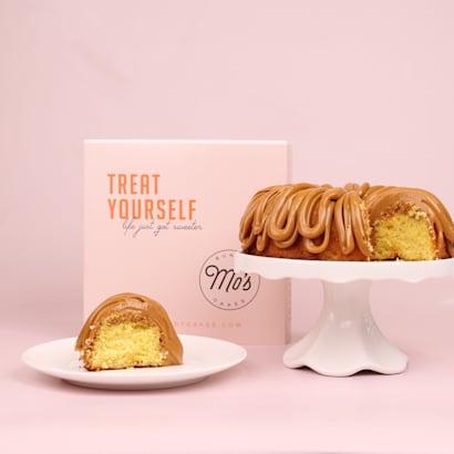 Treat Yourself Dulce de Leche Bundt Cake