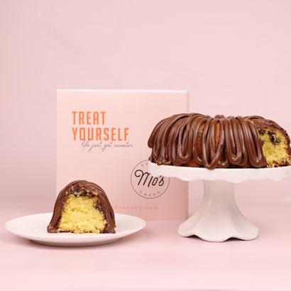 Treat Yourself Nutella Bundt Cake