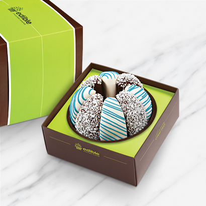 Gourmet Shareable® Caramel Apple – Bold & Blue