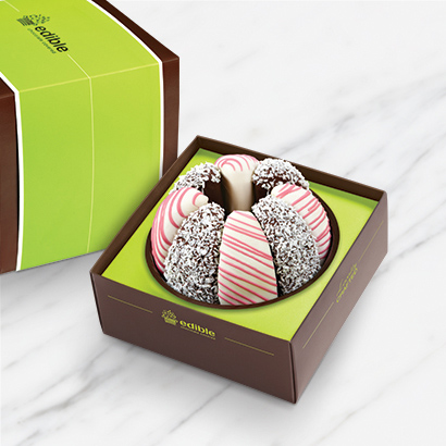 Gourmet Shareable® Caramel Apple – Pink Perfection